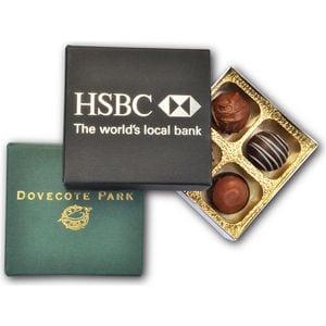 Branded chocolate box