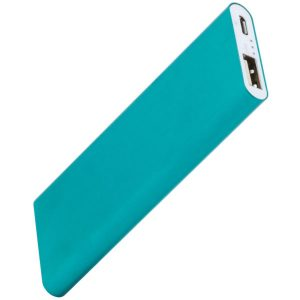 Blue super slim powerbank