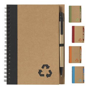 Eco Friendly Notebook and Pen