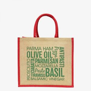 Lakeland Printed Motu Jute Bag