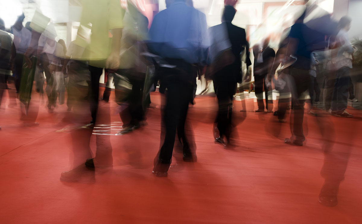 How to increase footfall on your stand at exhibitions and trade shows