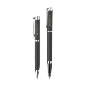 Black writing pen set