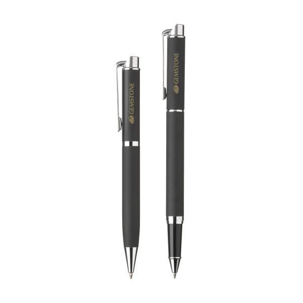 Black writing pen set