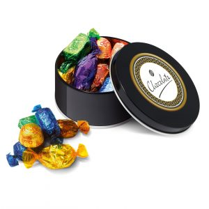 Black Treat Tin Quality Street
