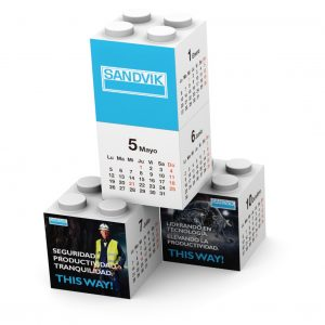 Building Block Calendar 4pcs SANDVIK R 01 1 copy