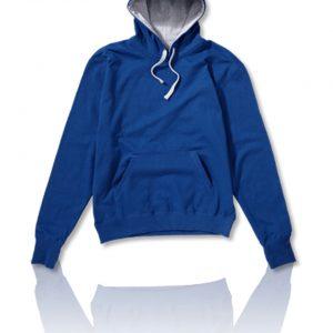 Contrast hoodie 2