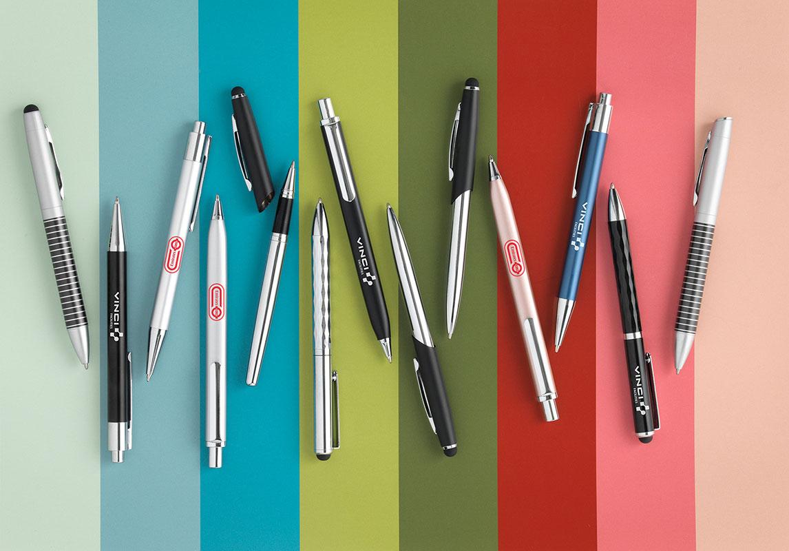 slider 14 LOW pens branded