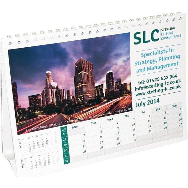 A5 desktop Calendar