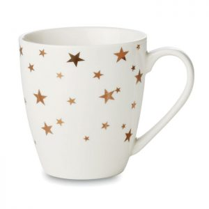 Christmas Gold Star Mug