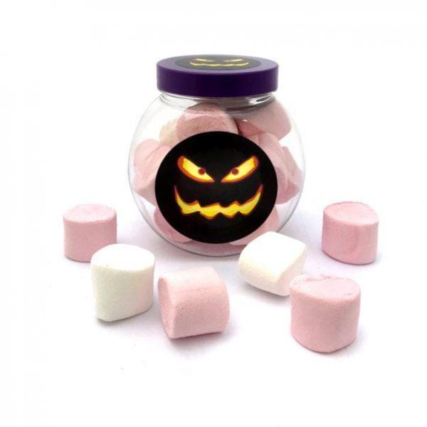 Halloween Marshmallow Jar