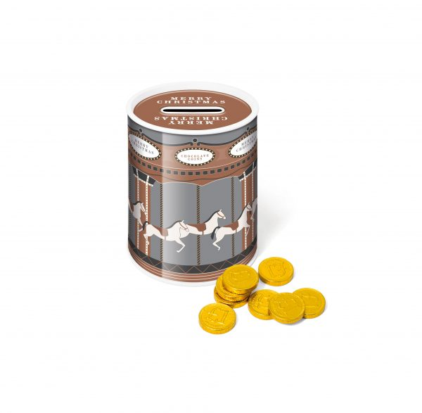 Money Coin Tin