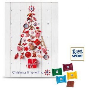 ritter sport wall advent calendar
