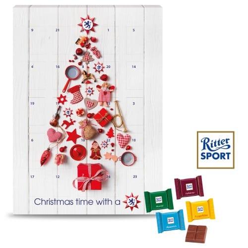 ritter sport wall advent calendar