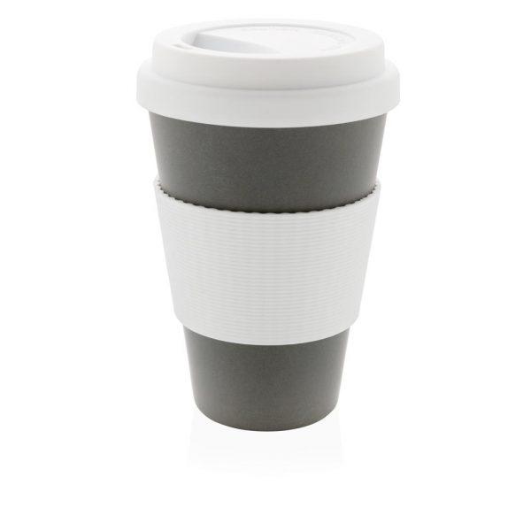 Branded eco fibre cup grey