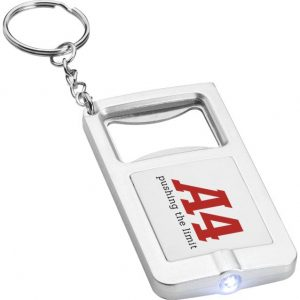 Keyring with light and bottle opener 2