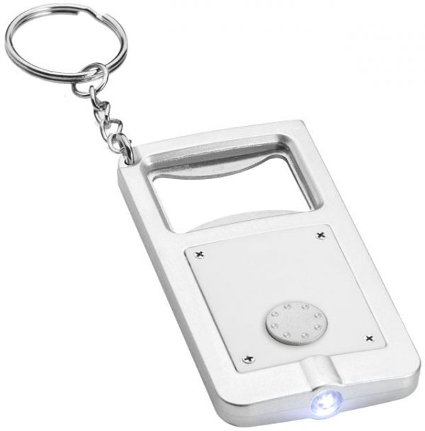 Keyring with light and bottle opener 3