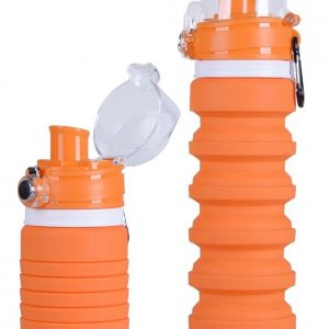 collapsible carabiner bottle