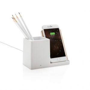 Wireless Charger With Pen Holder