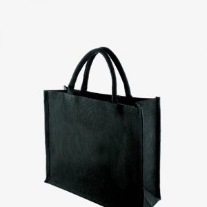 KIPU BLACK Jute Bag 2