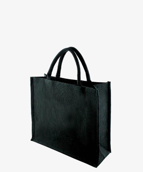 KIPU BLACK Jute Bag 2
