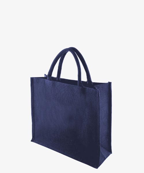 KIPU BLUE Jute Bag 1