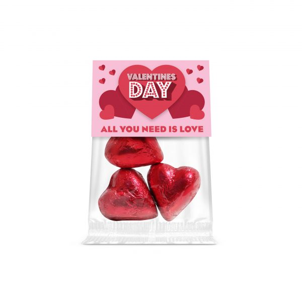Eco Bag Chocolate Hearts