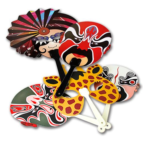 Custom Handheld Paddle Fan 2