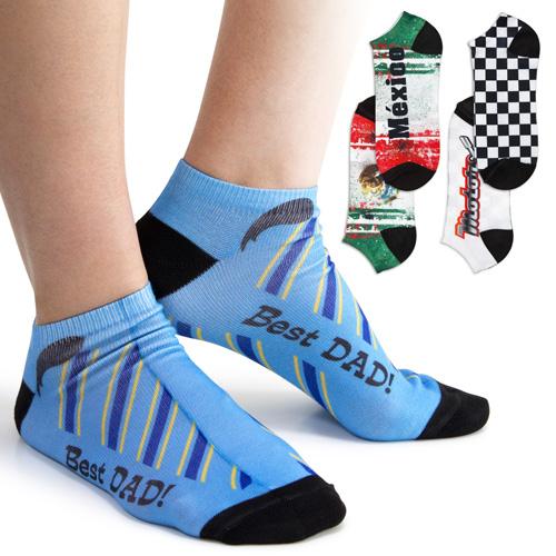 Custom Printed Ankle Socks