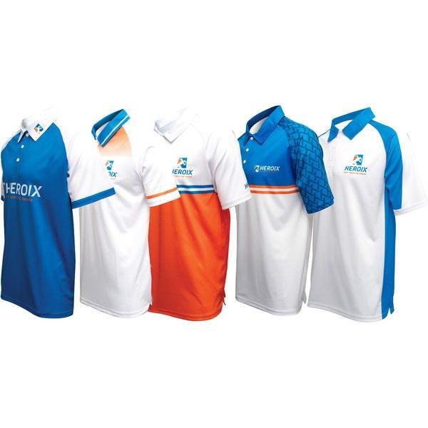 Ladies Custom Design Polo Shirt 2