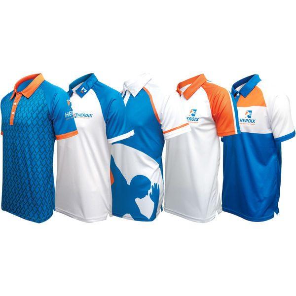 Ladies Custom Design Polo Shirt