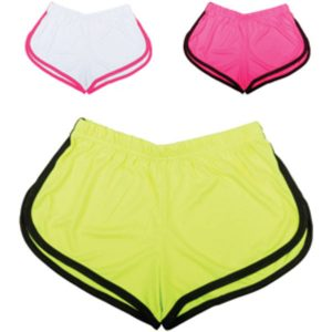 Ladies Fluorescent Sports Shorts