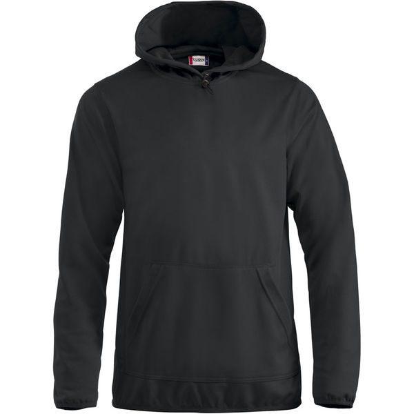Sporty Unisex Hooded Sweater