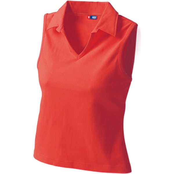Womens Vest Style Polo 4