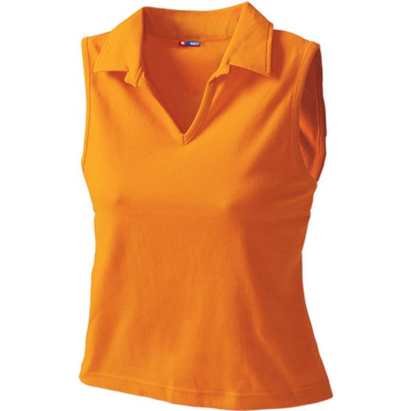 Womens Vest Style Polo 5