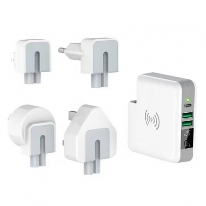 3 in 1 travel adapter