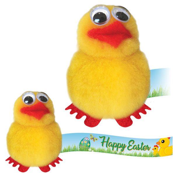 Easter Chick Logo Bug