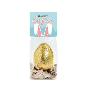 Golden Chocolate Easter Egg