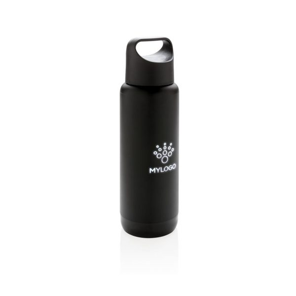 Light Up Logo Flask