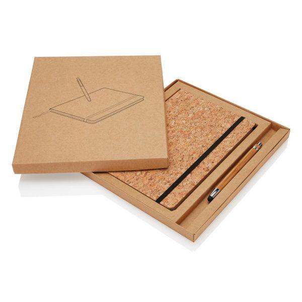 Cork Notebook Set 3