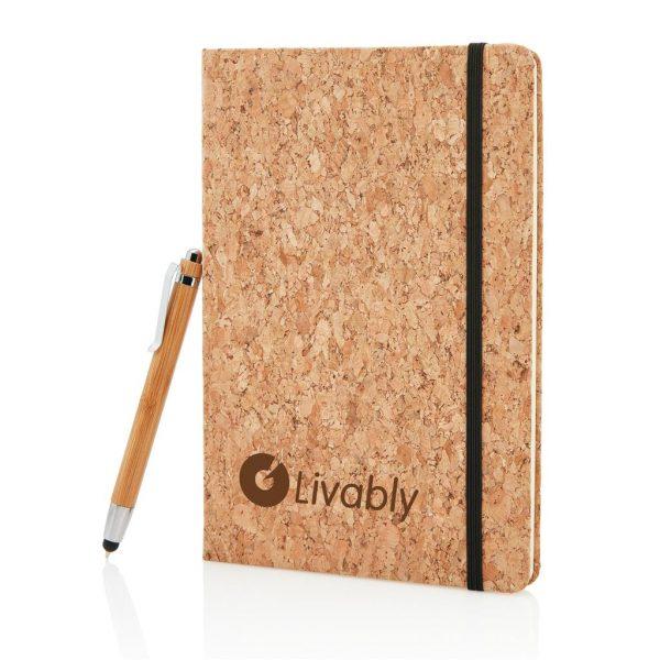 Cork Notebook Set