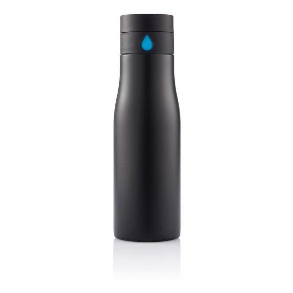 Stainless Steel Hydration Tracking Bottle 1