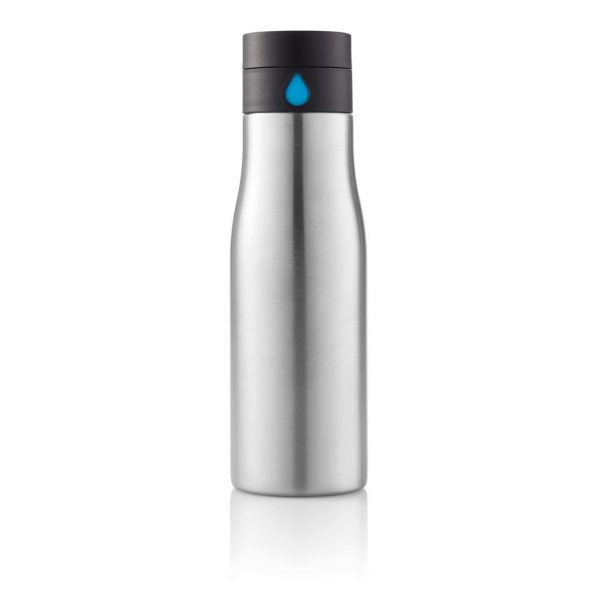 Stainless Steel Hydration Tracking Bottle 2