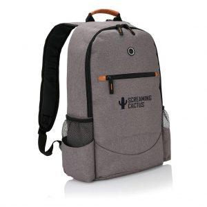 Two Tone Fashion Backpack 2