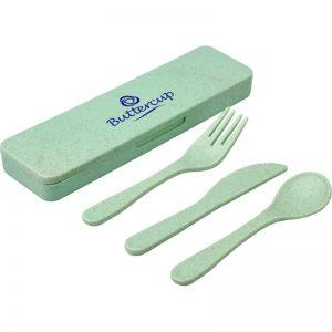 Bamboo Cutlery Set 2 1
