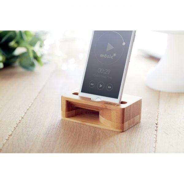 Bamboo Smartphone Stand 3