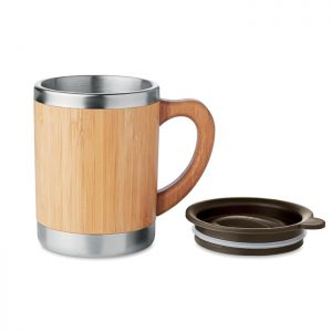 Bamboo Travel Coffee Mug 2