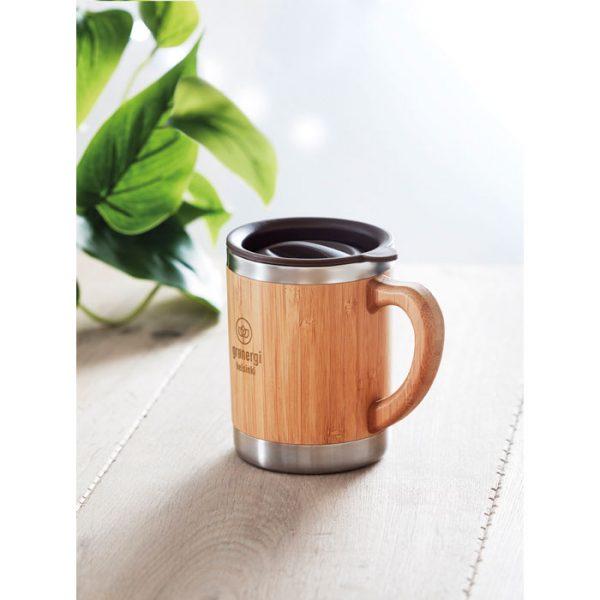 Bamboo Travel Coffee Mug 3