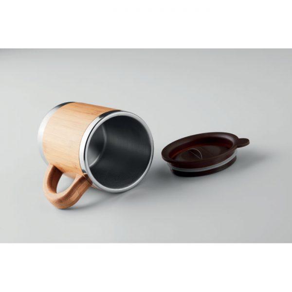 Bamboo Travel Coffee Mug 4