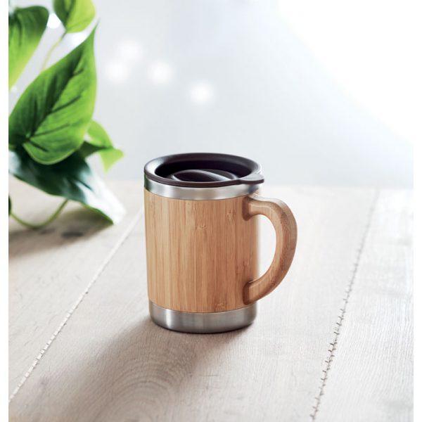 Bamboo Travel Coffee Mug 5