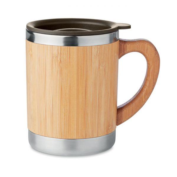 Bamboo Travel Coffee Mug
